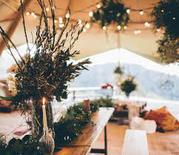 Yorkshire Wedding Tipi