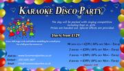 Karaoke Disco party | Funomenalparties Ltd